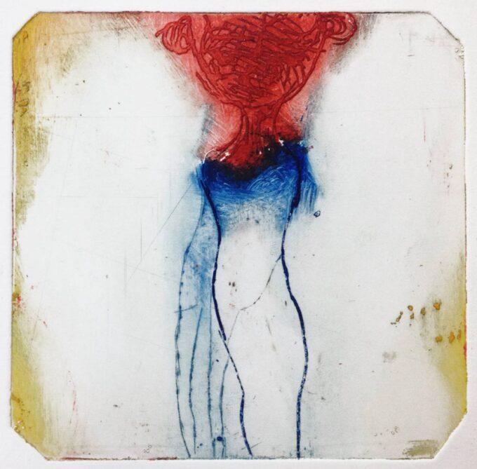 gravure, eau forte, monotype, Magda Moraczewska