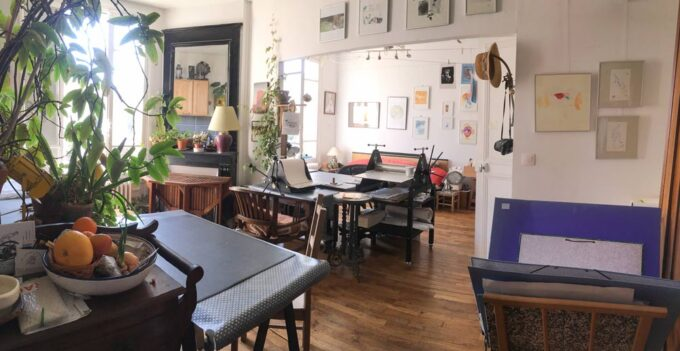 L'atelier parisien des Ateliers Migrateurs à Gentilly