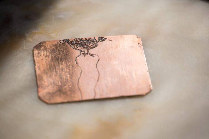 plaque de cuivre, eau forte, Magda Moraczewska