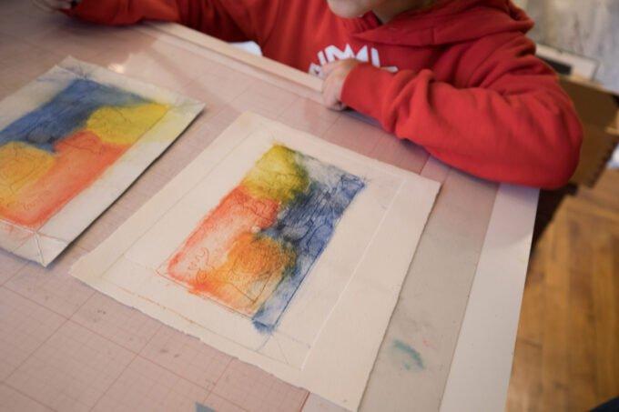 gravure tetrapack (cours enfants)