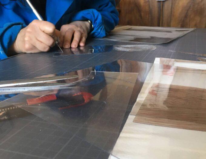 cours et stage de gravure sur rhénalon