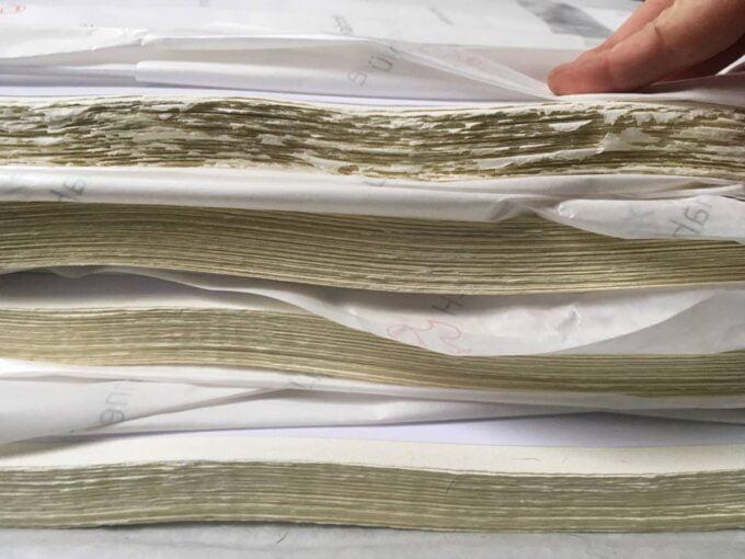 Notre stock de papier de gravure Hahnemuhle