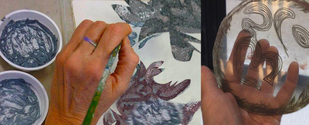 worksop gravure au carborundum