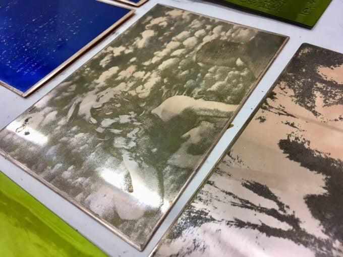 plaques photogravure
