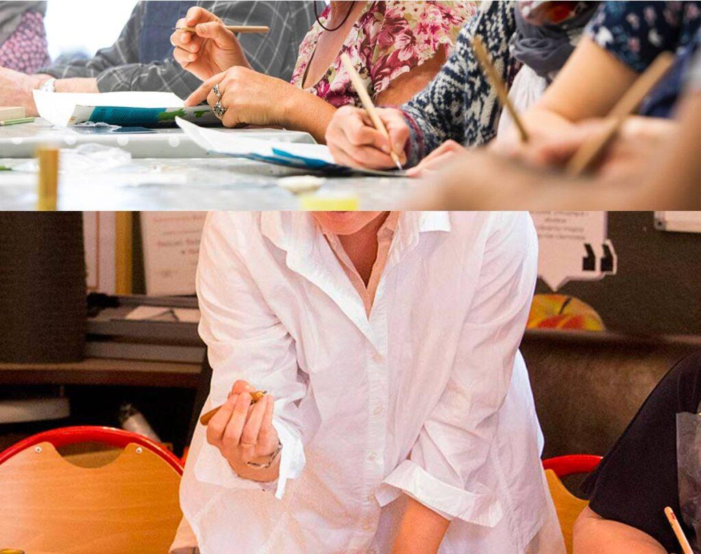 stage artistique en entreprise -  team building - gravure