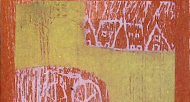 Magda Moraczewska - gravure sur bois, détail, 2012